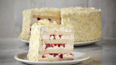 Gâteau shortcake aux fraises
